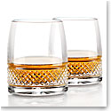 Cashs Ireland, Cooper Islay Single Malt Whiskey Tasting DOF Glasses, Pair