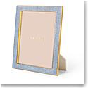 "Aerin Classic Shagreen Frame, Blue 8x10"""