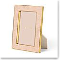 "Aerin Classic Shagreen Frame, Blush 4x6"""