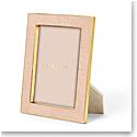 "Aerin Classic Shagreen Frame, Blush 5x7"""