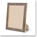 "Aerin Classic Shagreen Frame, Chocolate 8x10"""