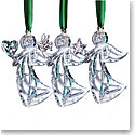 Cashs Ireland, 2018 Three Sisters Angel Ornament Set