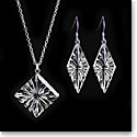 Cashs Ireland, Diamond Newgrange Necklace and Earrings Gift Set