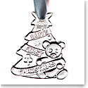Cashs Ireland, Babys First Christmas 2019 Crystal Ornament