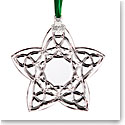 Cashs Ireland, Celtic Trinity Star 2019 Crystal Ornament