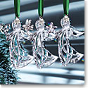 Cashs Ireland, 2019 Three Sisters Angel Ornament Set
