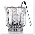 Cashs Ireland Cooper Ice Bucket with Stainless Ice Tongs