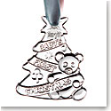 Cashs Ireland, Babys First Christmas 2020 Crystal Ornament