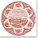 "Johnson Brothers Old Britain Castles Pink 8"" Salad Plate Round, Single"