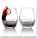 Cashs Ireland Cooper Stemless Red Wine Glasses, 1+1 Free