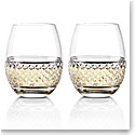 Cashs Ireland Cooper Stemless White Wine Glasses, 1+1 Free
