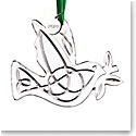 Cashs of Ireland, 2021 Celtic Dove Dated Ornament
