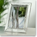 "Galway Crystal Shamrock 5x7"" Photo Frame"