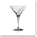 Steuben Whisper Martini Glass, Single