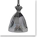 Baccarat Crystal, Darkside Collection Harcourt Ceiling Crystal Lamp
