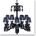 Baccarat Crystal, Zenith 12 Light Midnight Chandelier