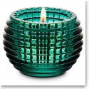 Baccarat Crystal, Green Eye Crystal Votive, Single