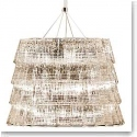 Baccarat Crystal, Tuile De Cristal Piccadilly Crystal Chandelier, Large