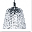 Baccarat Crystal, Candy Large Ceiling Crystal Lamp Chrome