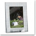 "Baccarat Crystal, Eye 5x7"" Picture Frame, Clear"
