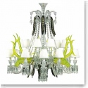 Baccarat Crystal, Etrange Zenith Sur La Lagune 15 Light Crystal Chandelier, Limited Edition