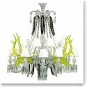 Baccarat Crystal, Etrange Zenith Sur La Lagune 15 Light Crystal Chandelier, Limited Edition