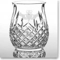 Galway Crystal Claddagh Friendship Pillar Hurricane Lamp