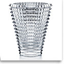"Baccarat Crystal, Eye 16 1/2"" XL Oval Vase, Clear"