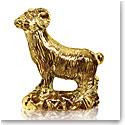 Baccarat Zodiac Ram, Gold
