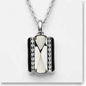 Baccarat Crystal Louxor Necklace, Silver and Mist Mirror