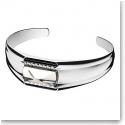Baccarat Louxor Small Bracelet, Silver and Mist Mirror