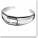Baccarat Louxor Large Bracelet, Silver and Mist Mirror