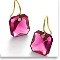 Baccarat Crystal Par Marie Helene De Taillac Peony Earrings, Pair