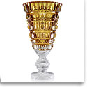 Baccarat New Antique Amber Vase, Limited Edition