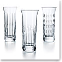 Baccarat Crystal, Flora Bud Crystal Vases, Set of 3