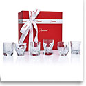 Baccarat Crystal, Everyday Les Minis Take A Shot, Gift Boxed Set of Six Shot Glasses
