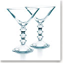 Baccarat Crystal, Vega Martini Glasses Clear, Pair