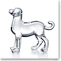 Baccarat Zodiac Dog, Clear