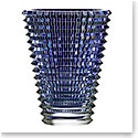 Baccarat Eye XL Oval Vase, Blue