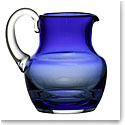 Baccarat Crystal, Mosaique Blue Crystal Pitcher