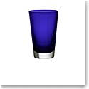 Baccarat Crystal, Mosaique Crystal Vase, Blue