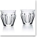 Baccarat Crystal, Harcourt Talleyrand #4 Tumbler, Pair
