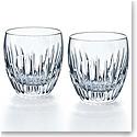 Baccarat Crystal, Massena Large Crystal DOF Tumblers, Pair