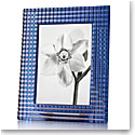 "Baccarat Crystal, Eye 5x7"" Picture Frame, Blue"