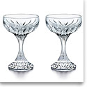 Baccarat Massena Champagne Coupe, Set Of 2