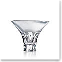 Steuben Tortoise Stemless Martini Glass, Single
