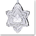 Baccarat Crystal Annual Ornament 2018, Silver