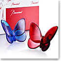 Baccarat Crystal Papillon Butterfly Lovers Pair