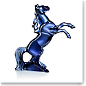 Baccarat Marengo Horse Sculpture, Midnight