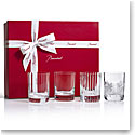 Baccarat Crystal 4 Elements Gift Boxed Set of Four